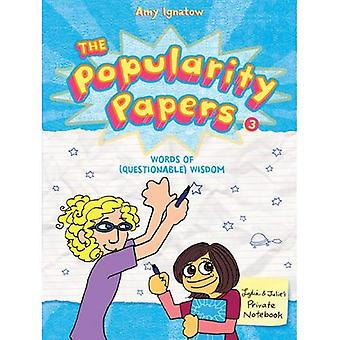 The Popularity Papers (Popularity Papers