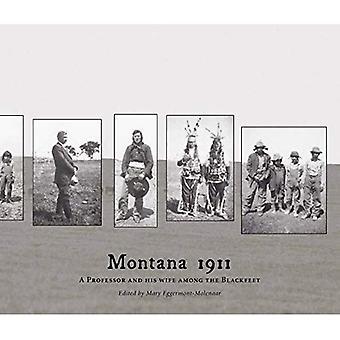Montana 1911: Un professeur et sa femme parmi les pieds-noirs