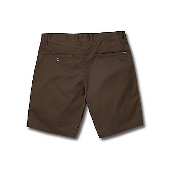Volcom Men's Stretch Shorts ~ Frickin Modern Stretch 19 mushroom