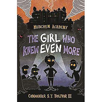 Munchem Academy, bok 2: Tjejen som visste ännu mer