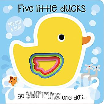 Pop-Out and Play Five Little Ducks [Board book]
