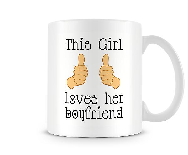 This Girl Loves Her Boyfriend Mug