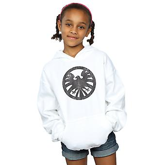 Marvel Girls Agents of S.H.I.E.L.D. Distressed Logo Hoodie