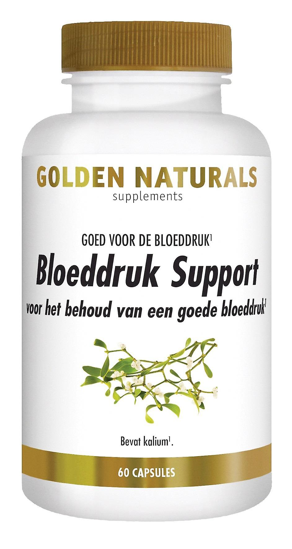 Golden Naturals blood pressure Support (60 capsules)