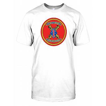 1: a bataljonen 11 Marines Insignia - Ultima ranson Regnum Mens T Shirt