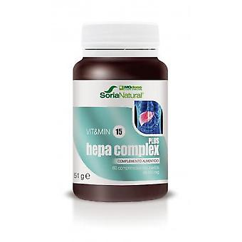 Soria Natural Hepacomplex Plus Mg Dose 60 Tablets