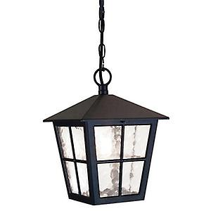 Elstead BL48M BLACK Canterbury Traditional British Style Exterior Porch Chain Lantern