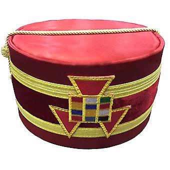 Royal Arch Grand Past High Priest PHP Emblem Cap Red