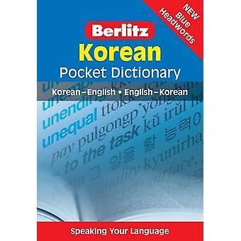 Korean Berlitz Pocket Dictionary by Berlitz - Berlitz - 9789812681997