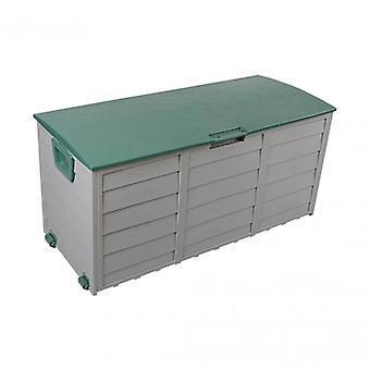 Rebecca Möbelbox Garten Stamm Green Garage 290 Lt Kunststoff 2 Räder