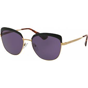 Prada SPR51T Antique Gold/Black Violet