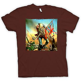 Kids t-shirt - Iron Maiden - Trooper - carátulas