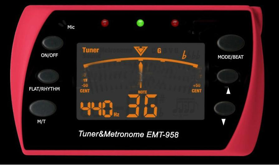 Tuner Metronome For Guitars - Guitar Accessories
