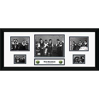 Beatles pieczary oprawione Collector wydruku 75x30cm