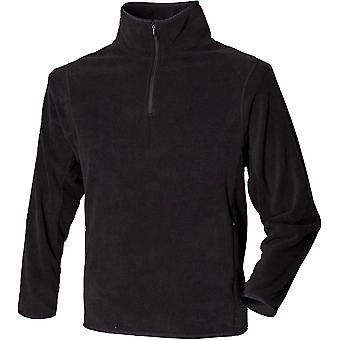 Henbury - Mens ¼-Zip Lightweight Inner Fleece