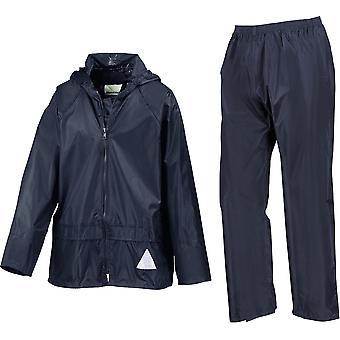 Résultat - Junior Kids Waterproof Jacket And Trouser Set - École