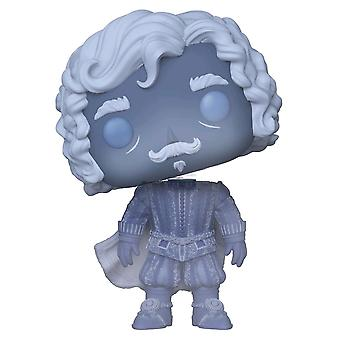 Harry Potter Nearly Headless Nick Blue Translucent US Pop!