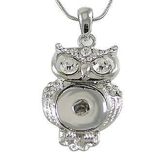 Stainless steel pendant for click buttons KB3376