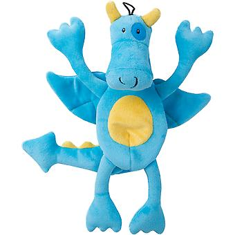 Trusty Pup Dragons Plush Toy-Blue 774066