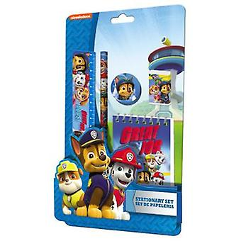 Kids Euroswan Paw Patrol-Blister Stationery 5 Pieces