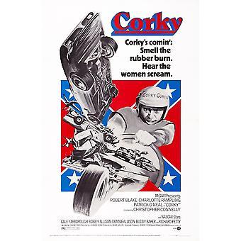 Corky oss plakat kunst Robert Blake 1972 film plakat Masterprint