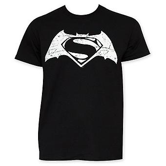 V de Batman Superman y negro película Logo t Shirt