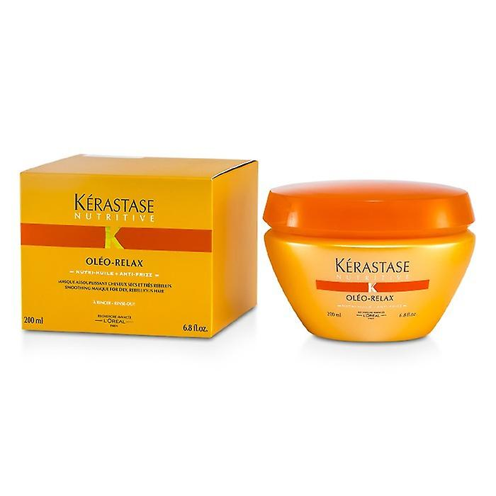 Kerastase Nutritive Oleo-Relax Smoothing Mask (Dry & Rebellious Hair) 200ml/6.8oz