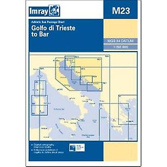 Imray Chart M23: Adriatic Sea Passage Chart; Golfo Di Trieste to Bar and Promontorio Del Gargano (Map) by Imray