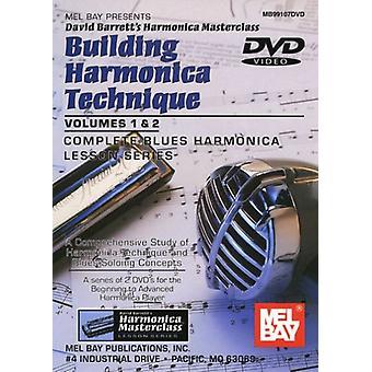 David Barrett - David Barrett: Importación Vol. 1-2-edificio armónica técnica [DVD] los E.e.u.u.