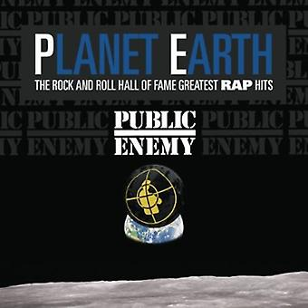 Public Enemy - planeten jorden: Rock & Roll Hall of Fame største Ra [CD] USA import