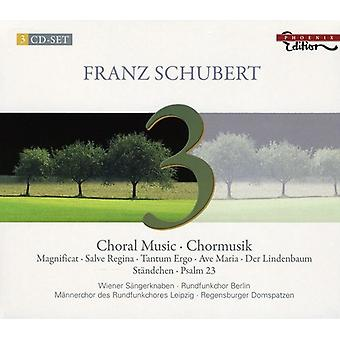 Franz Schubert - Schubert: Choral Music [CD] USA import