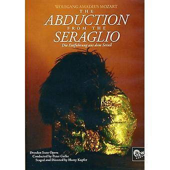 W.a. Mozart - bortførelse fra Seraglio [DVD] USA import