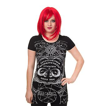 Banned IMMORTALITY T-SHIRT Tunic Top, Goth, Rock, Occult, Metal, Ouija Board
