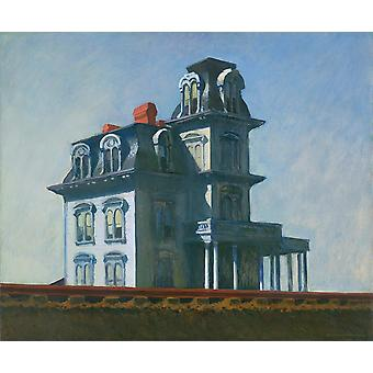 Edward Hopper - House by the Railroad Poster Print Giclee
