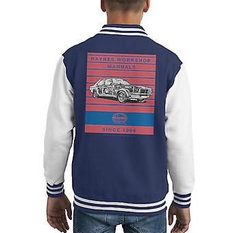 Haynes Workshop Manual 0108 Vauxhall Victor VX4 90 Stripe Kid's Varsity Jacket