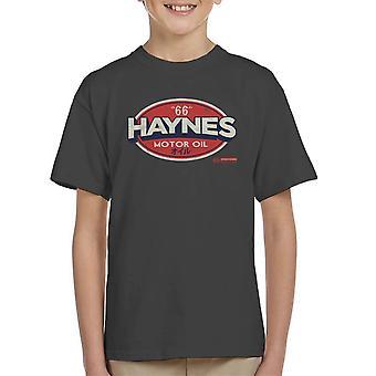 Haynes 66 Motor Öl Golf Logo Kinder T-Shirt
