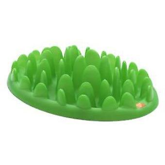 The Company Of Animals Green Slow Feeder Mini (Dogs , Bowls, Feeders & Water Dispensers)