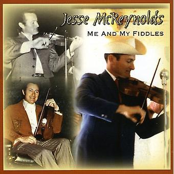 Jesse McReynolds - mig & My violiner [CD] USA Importer