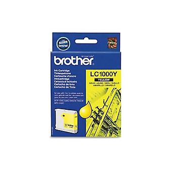 Brother LC1000Y ink cartridge yellow (approx 450 pages)
