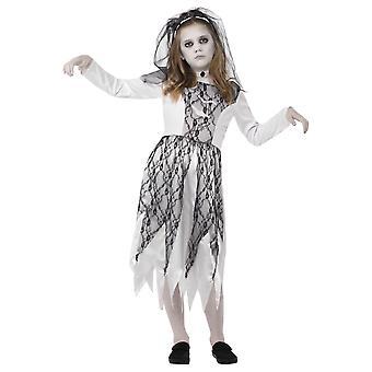 Barn kostymer Zombie bruden barn drakt