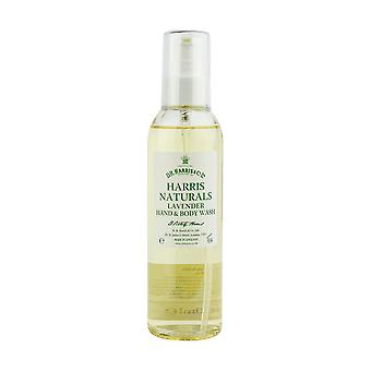 D R Harris Naturals Lavendel Hand & Body Wash 200ml