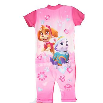 Paw Patrol Skye & Everest Girls 50+ UV Protection Swimsuit Swimming Costume