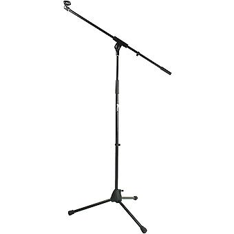 Tiger Boom Microphone Stand with Tripod Base - 5/8inch Mic Clip