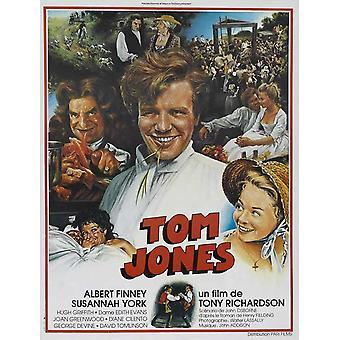 Tom Jones Movie Poster (11 x 17)