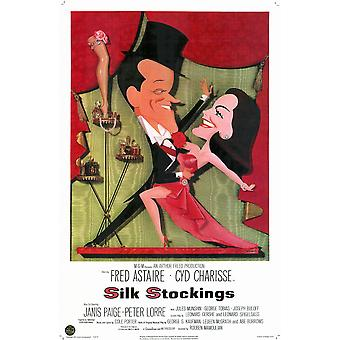 Silk Stockings Movie Poster (11 x 17)