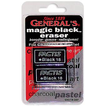 Magic Black Eraser 2 Pkg Gbs182bp