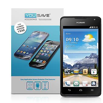 Yousave Huawei Ascend Y530 Защитные пленки - 3 пакет