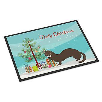 ロシアやヨーロッパのミンク クリスマス屋内または屋外マット 18 x 27