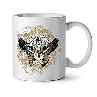 Girl With Guns Gangster NEW White Tea Coffee Ceramic Mug 11 oz | Wellcoda