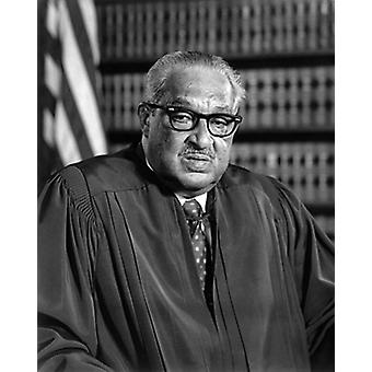 Supreme Court Justice Thurgood Marshall 1976 Poster Print by McMahan Photo Archive (8 x 10)